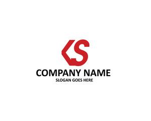 ks letter logo