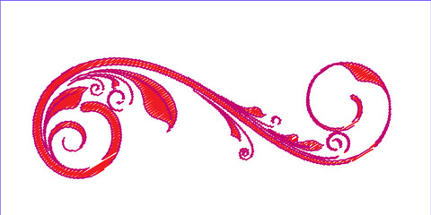 Retri Swirl Floral