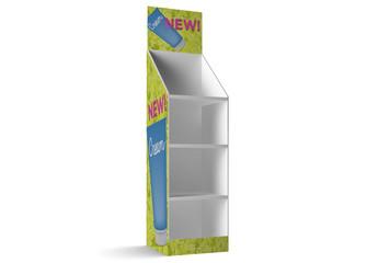 Product Display Stand Mockup 1