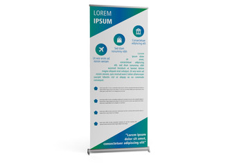 Roll-Up Standing Banner Mockup 1