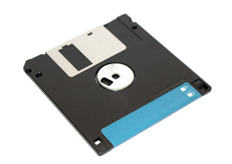 Pile Of Broken Destroyed Floppy Disc Files