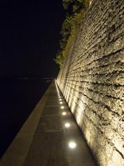 Cinta muraria di Zara ( Croazia )