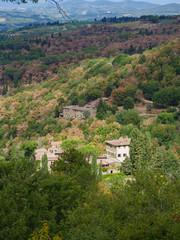 Tuscany landscape in italy