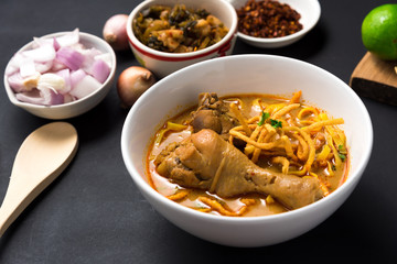 Khao Soi Recipe, Curried Noodle Soup with Chicken
