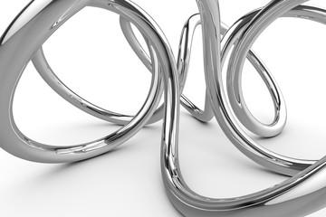 stylish chrome knot