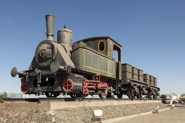 Historic steam train