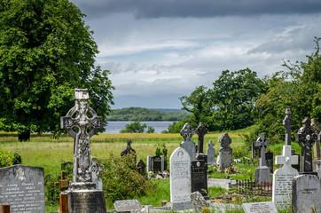 Muckross Abbey bei Killarney in Irland