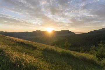 Mountain Landscape Sunrise