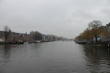 Beautiful unique city of Amsterdam in Holland The Netherlands