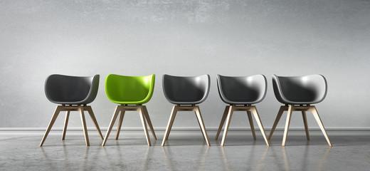 5 Stühle - Diskussion