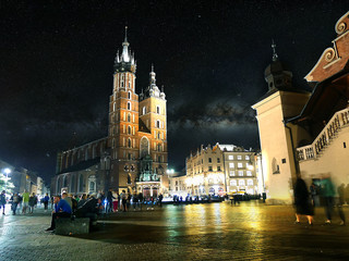 Cracovie de nuit