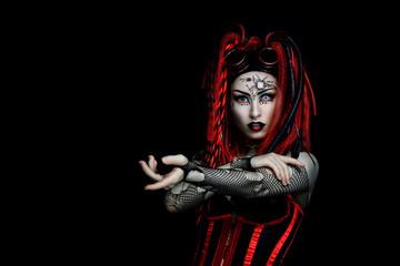 Cyber Goth Girl - Gothic