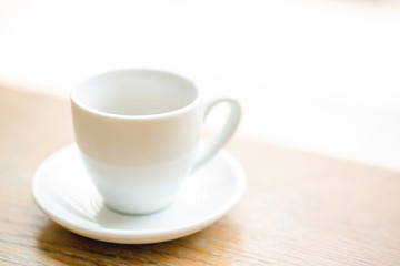 Coffee cup, A cup of hot espresso