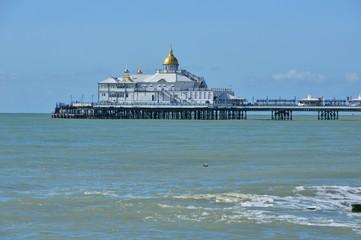 Eastbourne Pier in East Sussex.