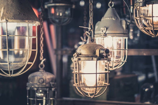 industrial lamps, hanging lights - pendant factory light