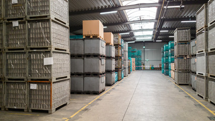Big storage of an industrial factory