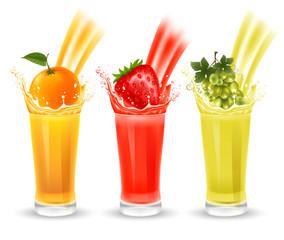Fruit juice set
