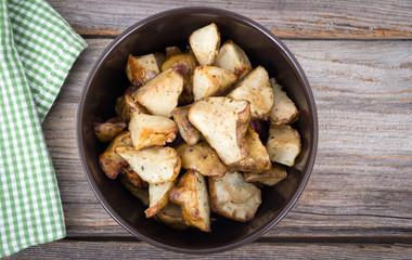 homemade roasted jerusalem artichoke sunchoke dish