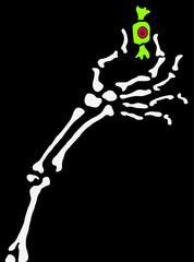 Skeleton Arm Candy