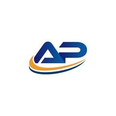 ap initial design logo