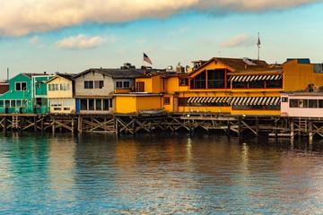 old fisherman's wharf in Monterey California