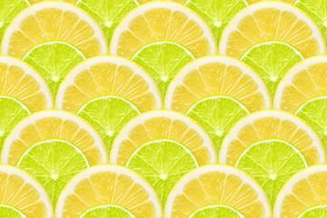 lemon and lime seamless