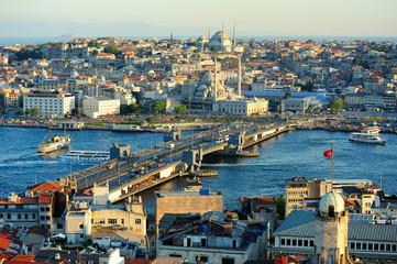 Istanbul scenery in Turkey