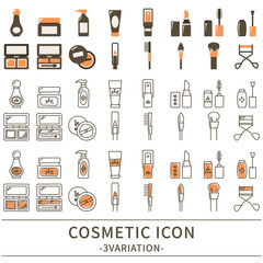 化粧品 アイコン セット