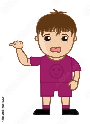 Cartoon Sad Boy Character Stock Image And Royalty Free Vector Files