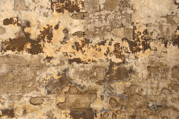 Photo sur Toile Vieux mur texturé sale Old weathered wall