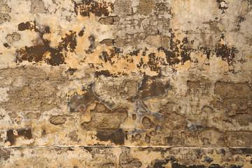 Deurstickers Oude vuile getextureerde muur Old weathered wall