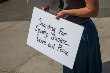 Equality, Justice, Love, and Peace