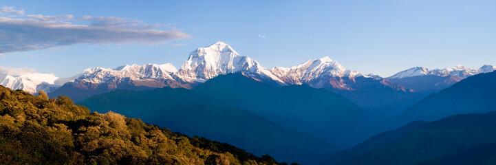 Panorama des Dhaulagiri Himal