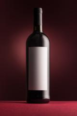 Poster de jardin Bar Excellent red wine bottle