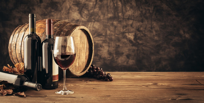 Traditional winemaking and wine tasting