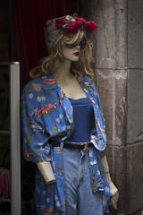 mujer en Barcelona