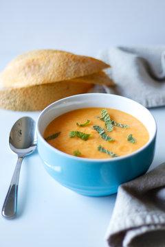 Kalte Melonen-Suppe
