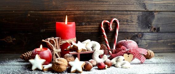 Weihnachten - Adventskerzen