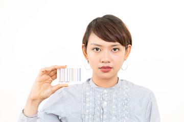 ポイントカード・女性