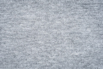 Close up gray fabric texture and background with space.