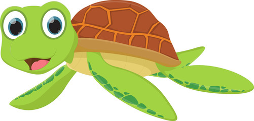sea turtle cartoon