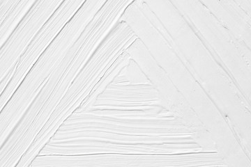 The texture of the paint is white with a triangle pattern. Background for various purposes.