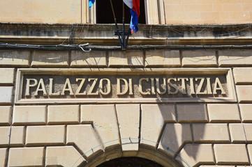 Palazzo di Giustizia, Lecce, Italy