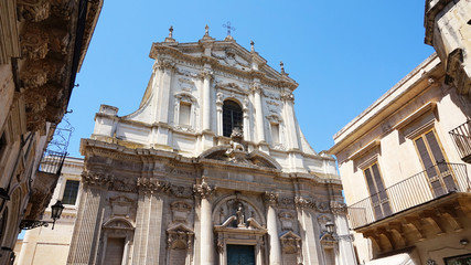 Church of St. Irene, Lecce, Italy