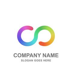 Colorful Infinity Logo