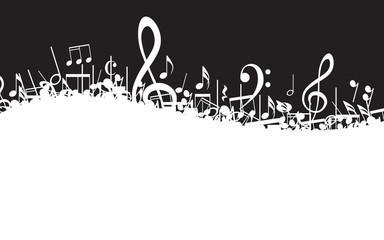 Musical Notes Border