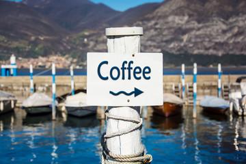 Schild 232 - Coffee