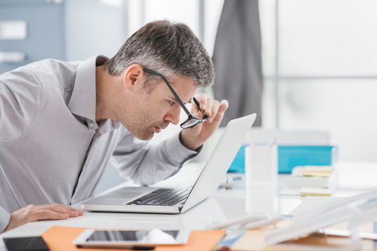 Workplace vision problems
