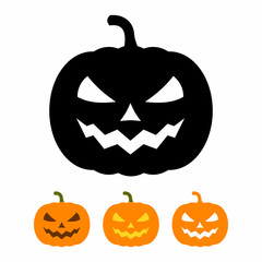 Pumpkin icon set