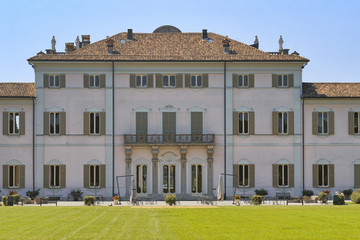 Cassano d'Adda (Milan, Italy): Villa Borromeo